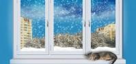 Скоро зима.Успейте утеплить балкон и вставить окна.
